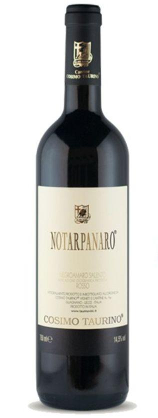 Cosimo Taurino 'Notarpanaro' Negroamaro 2010 3L