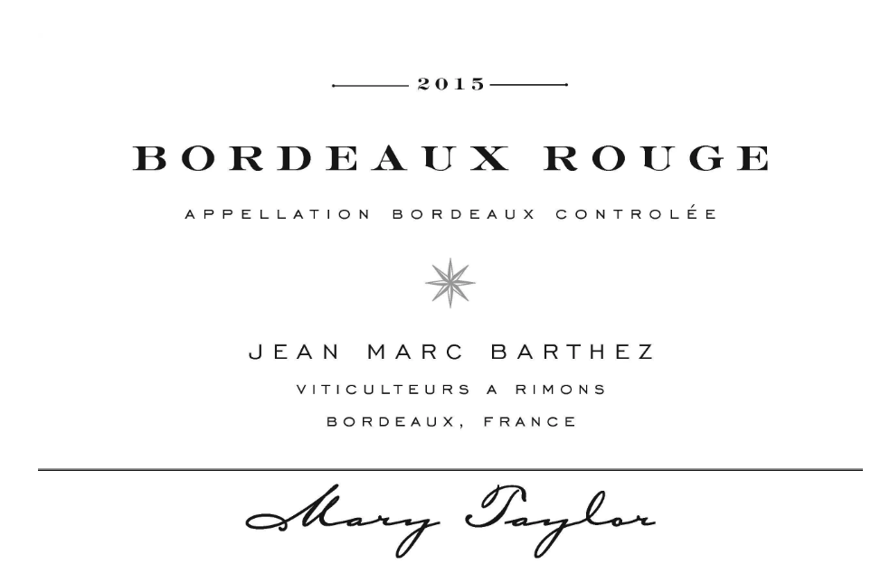 Mary Taylor Bordeaux Rogue 2015