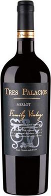 Tres Palacios Merlot 2014