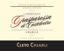 Grasparossa di Castelvetro Lambrusco