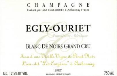 Egly Ouriet Blanc de Noir Grand Cru