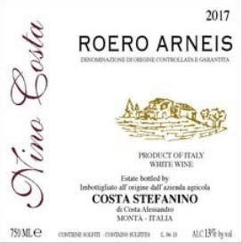 Nino Costa 'Roero Arneis' 2017