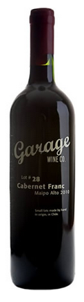 Garage Wine 'Pirque vineyard' Cab Franc 2016