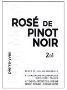 Colin Morey Rose of Pinot Noir 2018