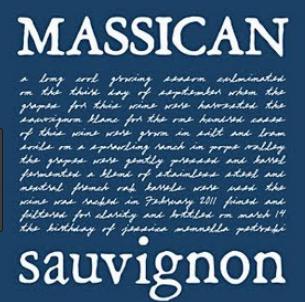 Massican Napa Valley Sauvignon Blanc 2018