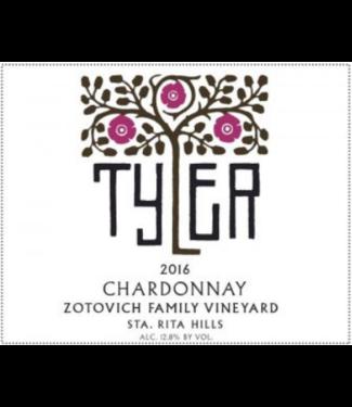 Tyler Tyler Chardonnay Zotovich Vineyard 2016