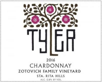 Tyler Chardonnay Zotovich Vineyard 2016