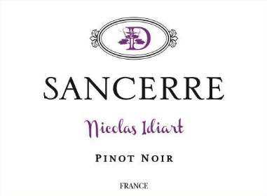 Nicolas Idiart Sancerre Rouge 2017