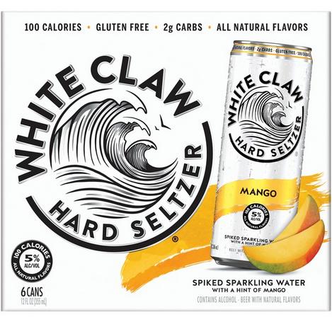White Claw Mango (6pk 12oz cans)