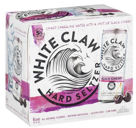 White Claw Black Cherry (6pk 12oz cans)