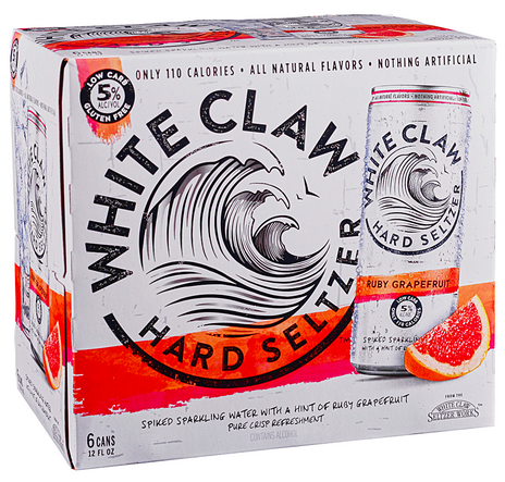 White Claw Grapefruit (6pk 12oz cans)