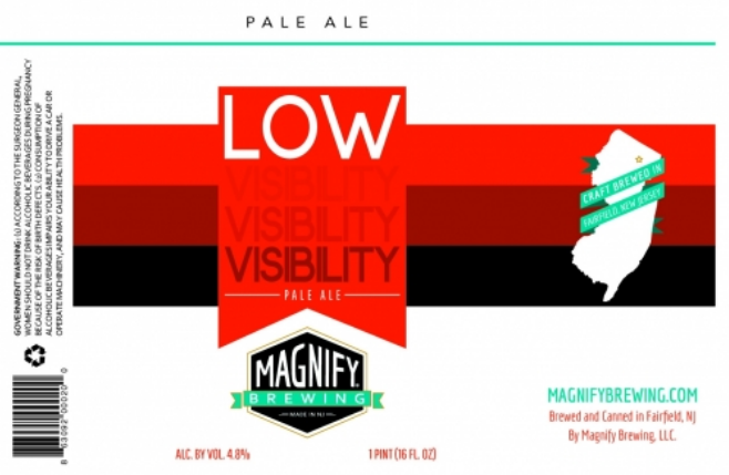 Magnify Low Visibility (4pk 16oz cans)
