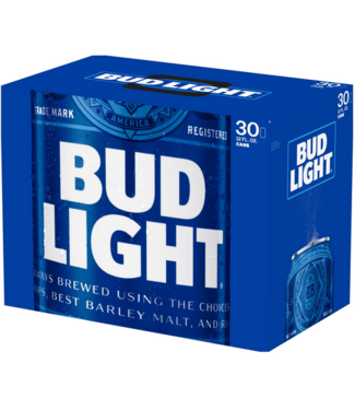 Bud Light Bud Light (30pk 12oz cans)