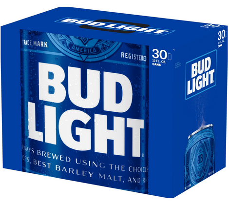 Bud Light (30pk 12oz cans)