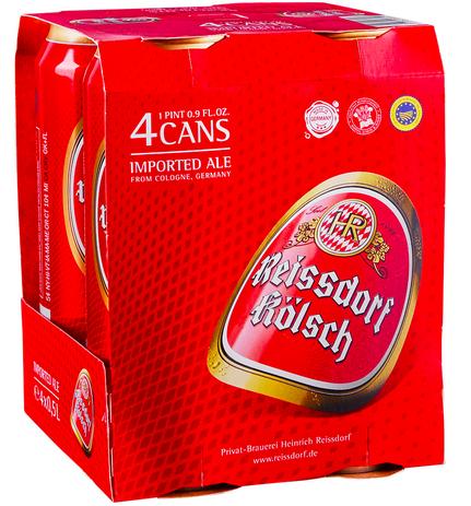 Reissdorf Kolsch (4pk 16.9oz cans)