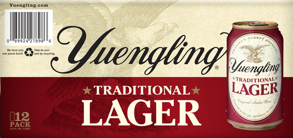 Yuengling Traditional Lager (12pk 12oz cans)
