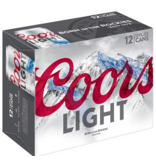 Coors Light (12pk 12oz cans)