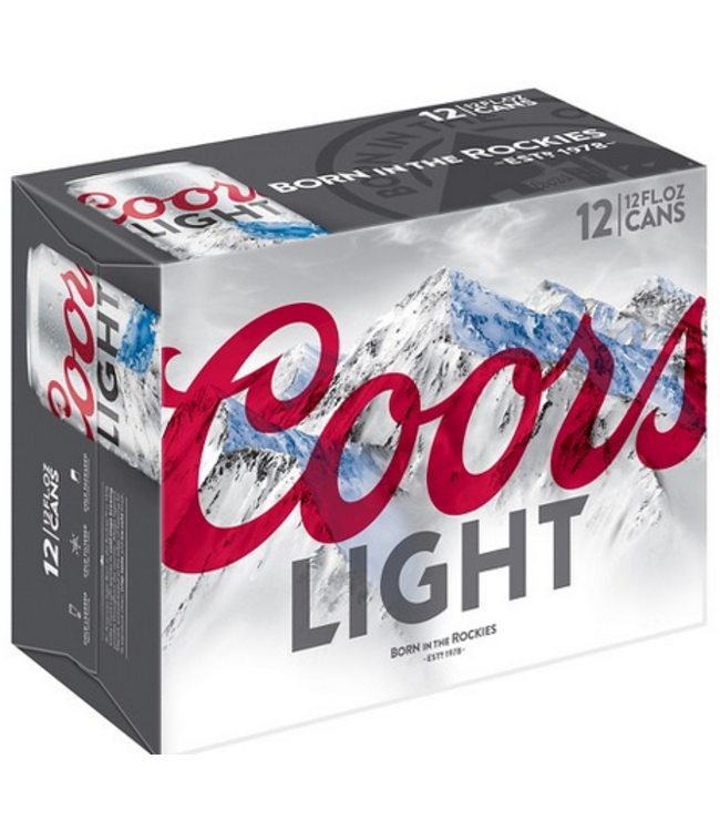 Coors Coors Light (12pk 12oz cans)