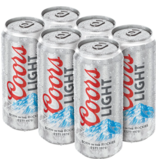 Coors Light (6pk 12oz cans)