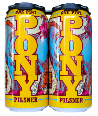 Half Acre Pony Pils (4pk 16oz cans)