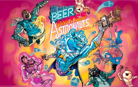 Half Acre Beer Hates Astronauts (4pk 16oz cans)