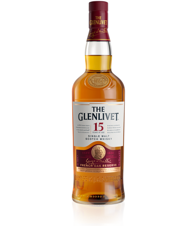 Glenlivet 15 Year French Oak 750ml