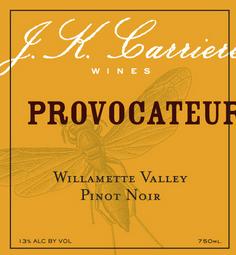 J.K. Carriere 'Provacateur' Pinot Noir 2017