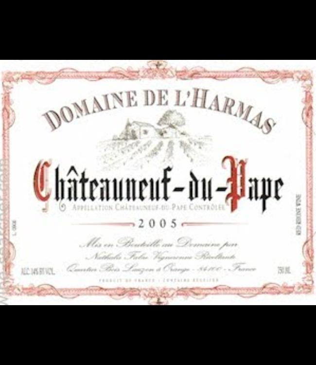 Domaine de L'Harmas Chateauneauf du Pape 2017