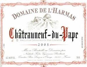 Domaine De L'Harmas Chateaneuf-Du-Pape 2017