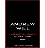 Andrew Will Columbia Valley Cabernet 2016