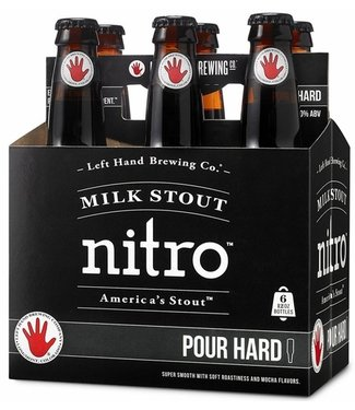 Left Hand Nitro Milk Stout (6pack 12oz bottles)