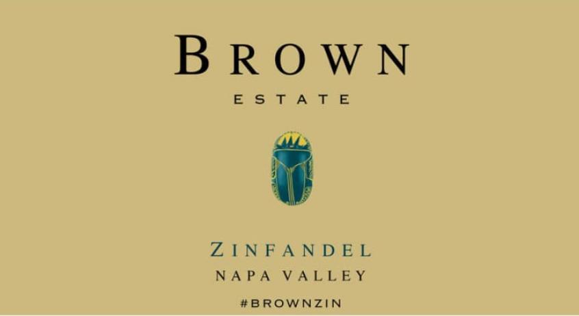 Brown Estate Zinfandel 2015