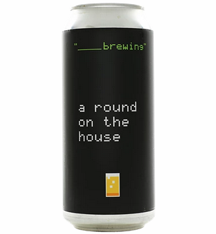 Blank Brewing Round on the House (4pk 16oz cans)