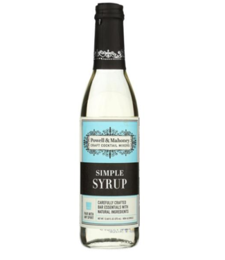 Powell & Mahoney Simple Syrup 375ml
