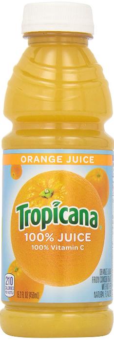 Tropicana Orange Juice (15.2 oz)