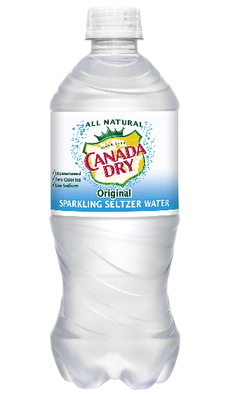 Canada Dry Seltzer Water (20oz)