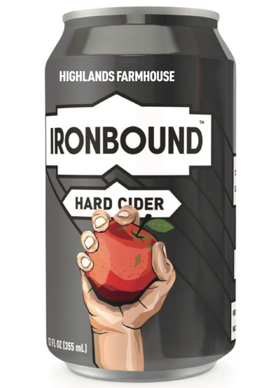 Ironbound Farmhouse Cider (6pk 12oz cans)