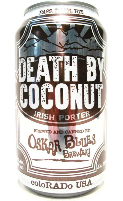 Oskar Blue Death by Coconut (4pk 12oz cans)