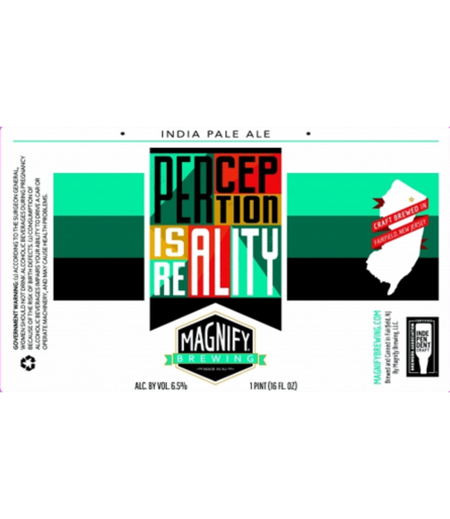 Magnify Magnify Perception is Reality (4pk 16oz)