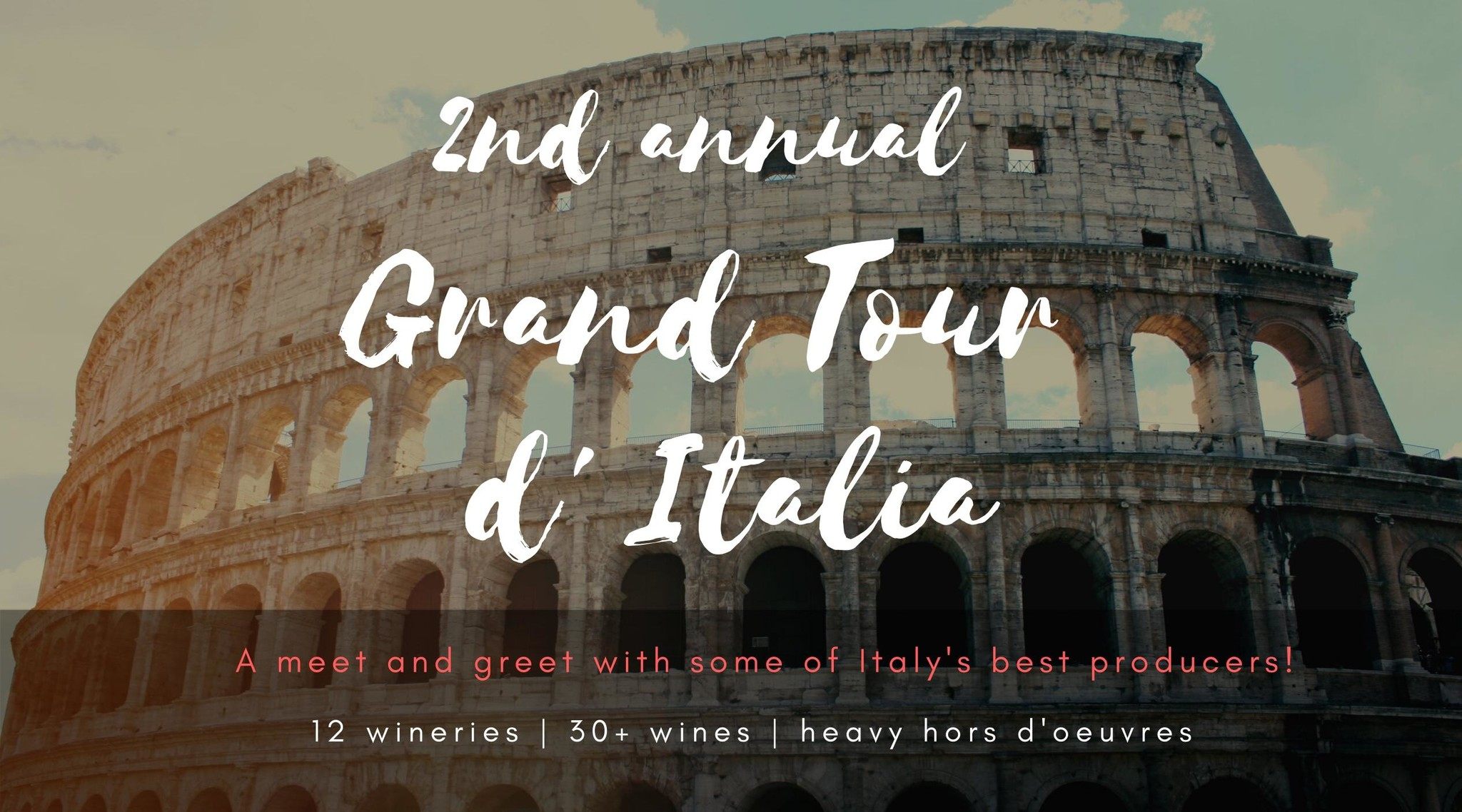 2nd Annual Grand Tour of Italy