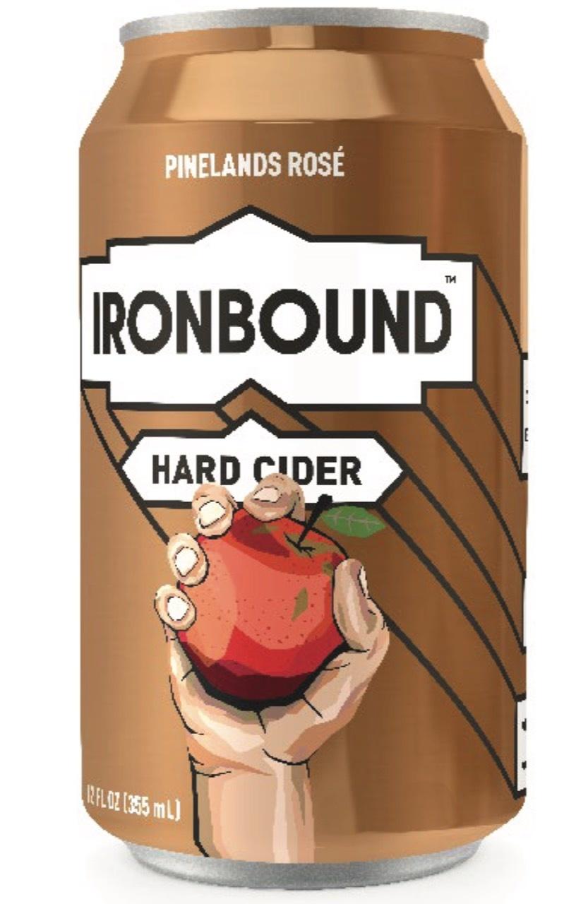 Ironbound Rose Cider (6pk 12oz cans)