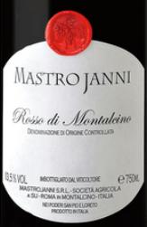Mastro Janni Rosso di Montalcino 2013