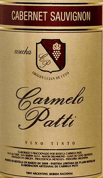 Carmelo Patti Cabernet 2012