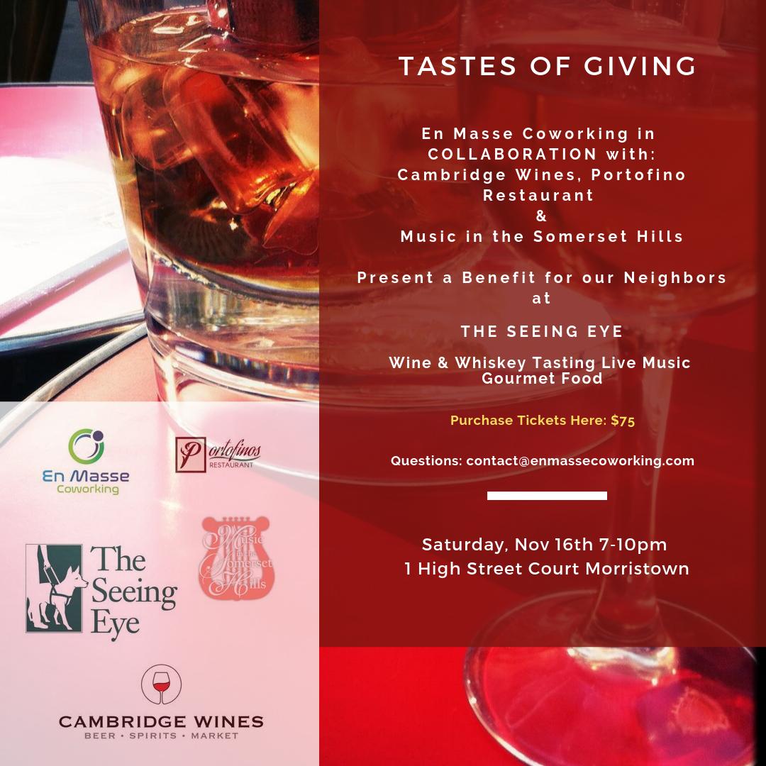 The Taste of Giving