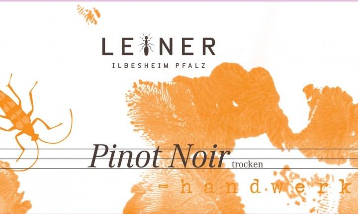 Leiner 'Hand Werk' Spatburgunder Trocken 2015