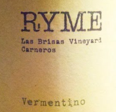Rymes Cellars Carneros  Vermentino 2018