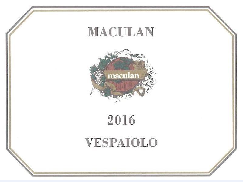 Maculan Vespaiolo 2017