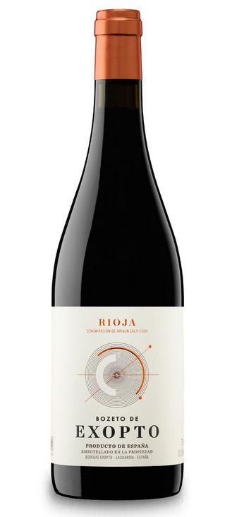 Bodegas Exopto 'Bozeto de Exopto' Rioja 2017