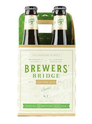 Dupont/Allagash Brewers Bridge Saison (4pk 12oz bottles)