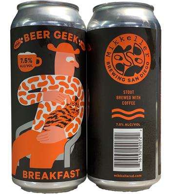 Mikkeller Beer Geek Breakfast Stout ( 4pk 16 oz Cans)